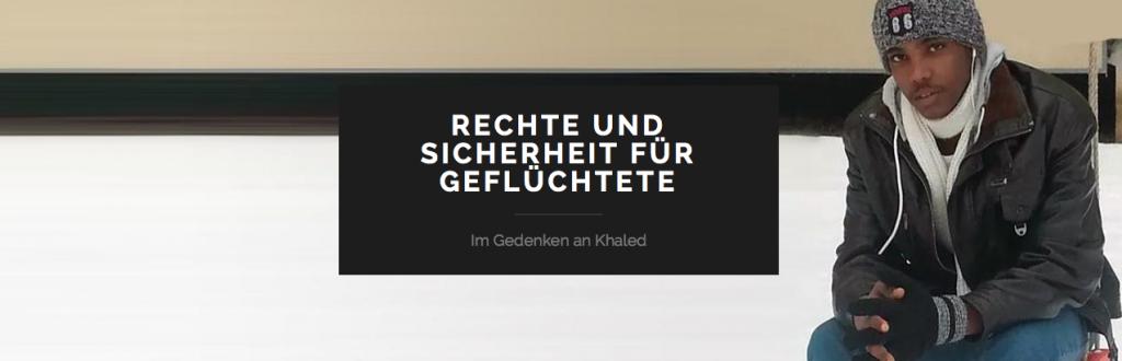 Remembering Khaled