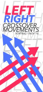 Flyer Vortrag Crossover Movements